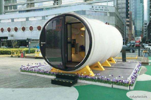 Lifestyle: Could these concrete tubes be the micro homes of the future?