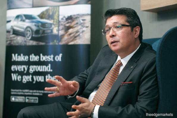 Mercedes-Benz's financing arm sees plenty of room for growth in Malaysia