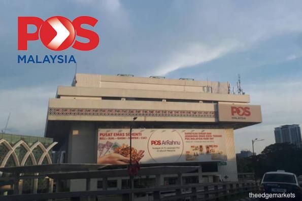 Pos Malaysia falls 4.64% after CEO steps down