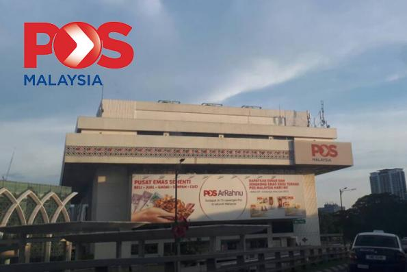 Pos Malaysia's 1Q net profit down 86% on lower revenue and higher costs
