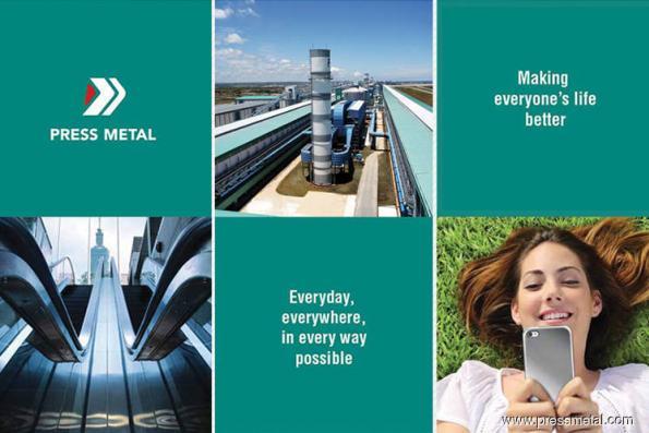 Press Metal 3Q profit up 5.3% to RM162.5m