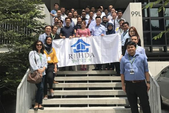 Rehda Youth members look into 'vertical programming' in April study tour