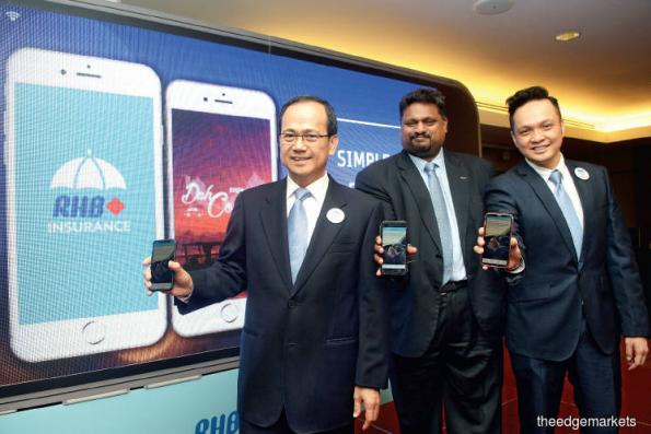 RHB Insurance targets RM5m premium with new mobile app