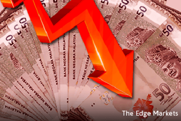 Ringgit falls on concern data to show further reserve depletion
