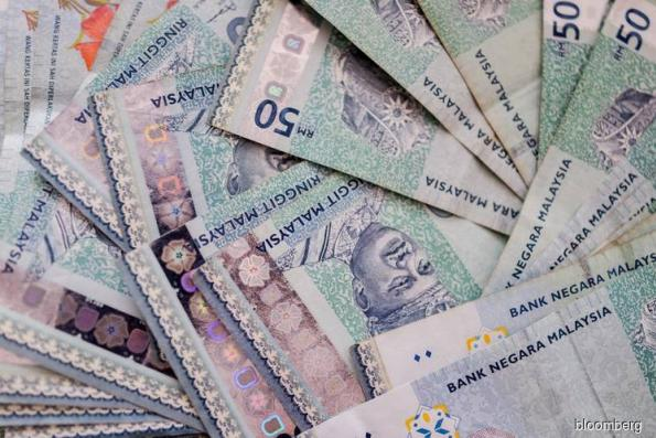 Ringgit falls third day as rate cut bets grow
