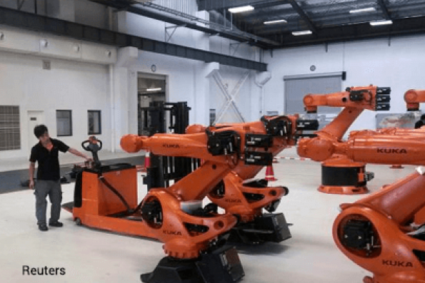 Behold the robotic revolution in the workplace