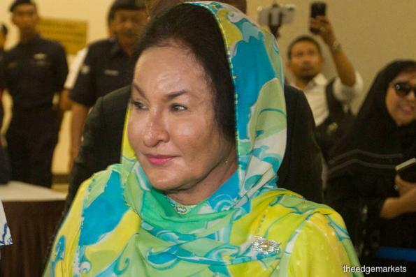 Rosmah wants bribery case hearing suspended pending appeal
