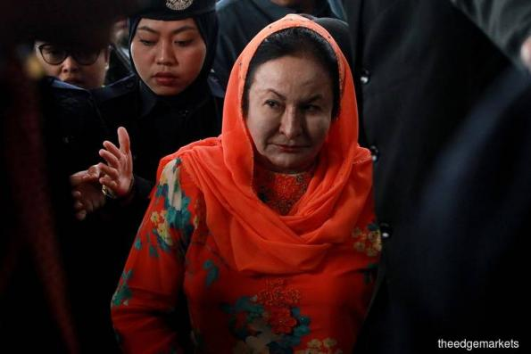 Rosmah leaves MACC, to appear in court tomorrow — report