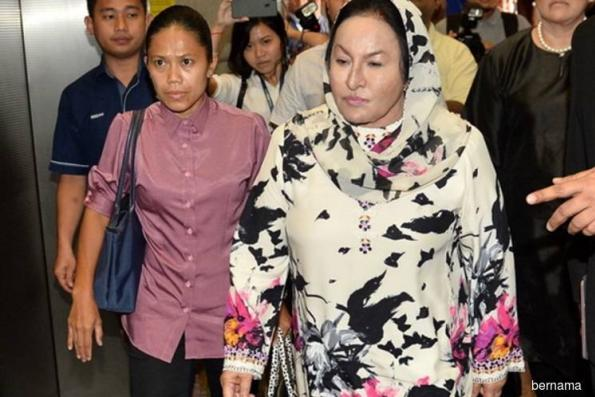 Rosmah done giving statement to police