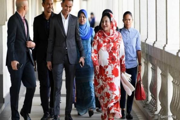 Rosmah maintains not guilty plea to money laundering, tax evasion charges