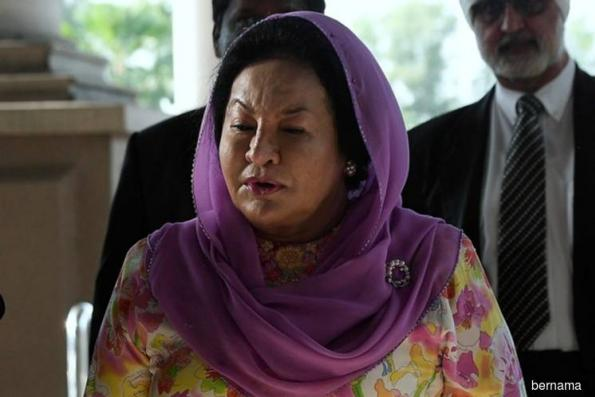 Rosmah wants bribery case hearing suspended pending appeal