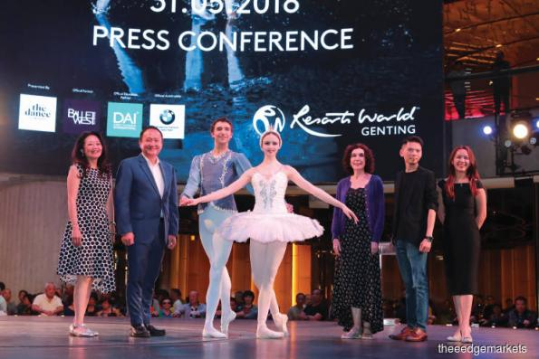Entertainment: Swan Lake at Resorts World Genting