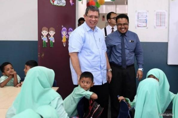 Malaysia-Singapore water talks started last month — Saifuddin