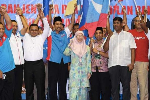 Pakatan candidate leading the race in Sg Kandis by-election, garners whopping 14,767 votes : PKR