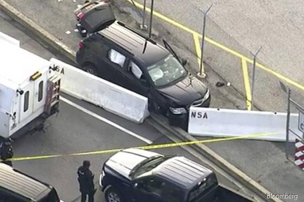 Shooting outside NSA headquarters ends with one injured