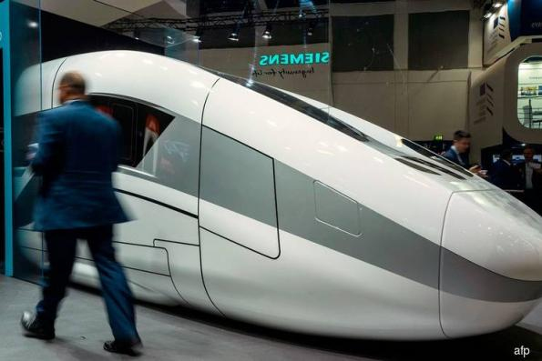 Siemens-Alstom assets said to draw bids amid push to sway EU