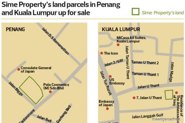 Sime Property puts prime parcels up for sale