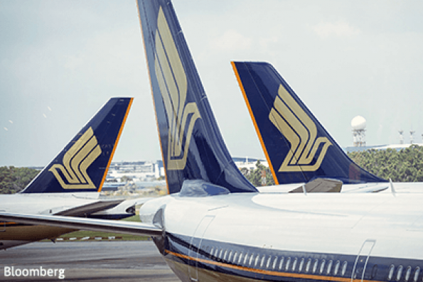Singapore Airlines 3Q earnings fall 36% to $177.2 mil