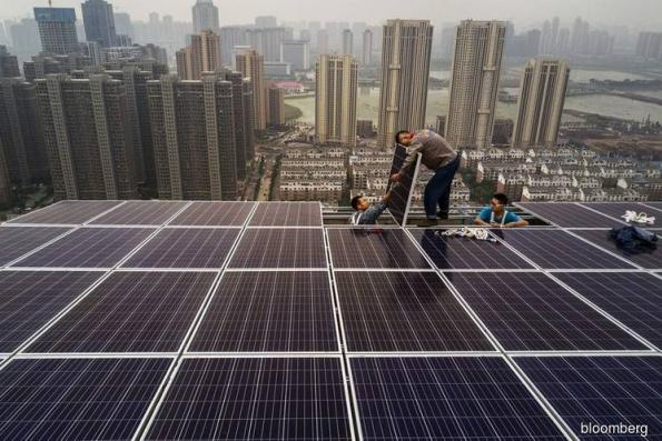 China assumes green power mantle, leaving Germany, US behind