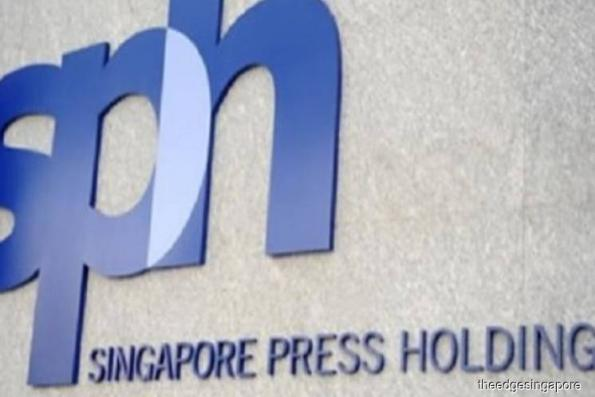 SPH posts higher 1Q earnings of S$60.4m on investments income; media revenue drops 14%