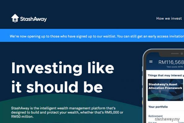 StashAway launches robo-advisory services in Malaysia