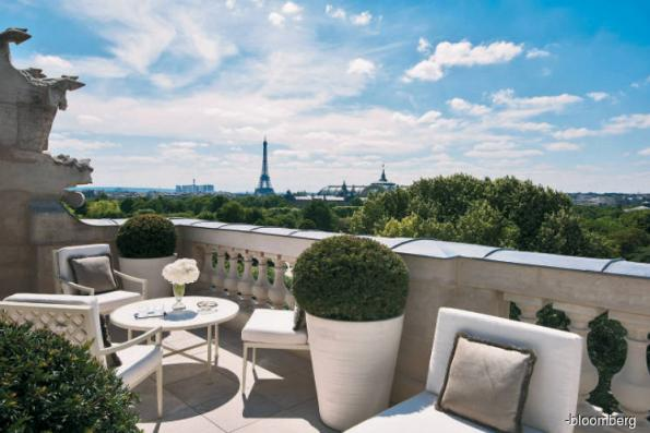 Got US$1,000 to spend per night in Paris?