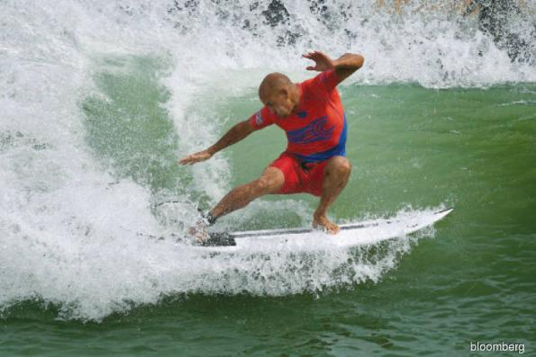 Surfing is now the official sport in California