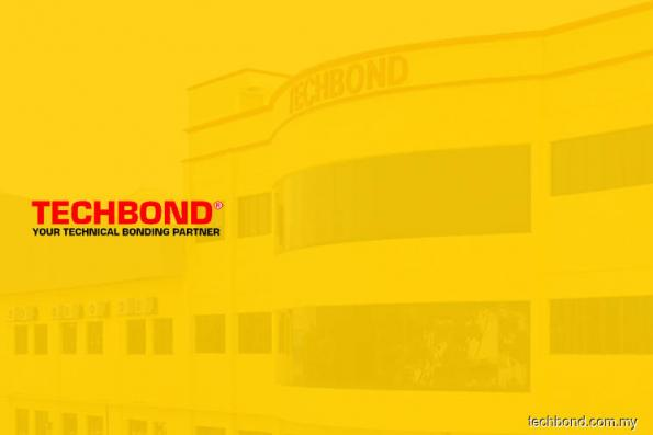 Newly-listed Techbond rises 25% in active trade