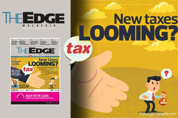 New taxes looming
