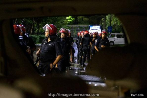 Calm prevails as security stepped up after temple chaos