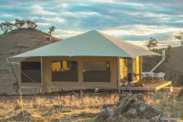 Tented camps fast becoming world's best resorts