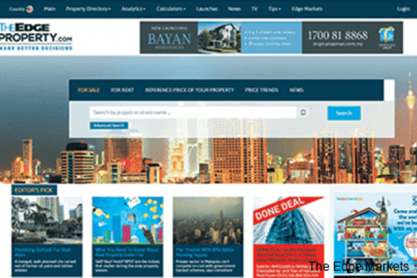 TheEdgeProperty.com eats into market share of leaders