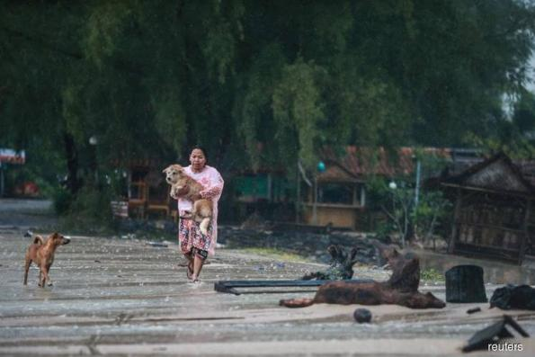 One dead in Thailand as tropical storm uproots trees, blows off roofs