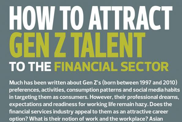 How to attract gen z talent to the financial sector