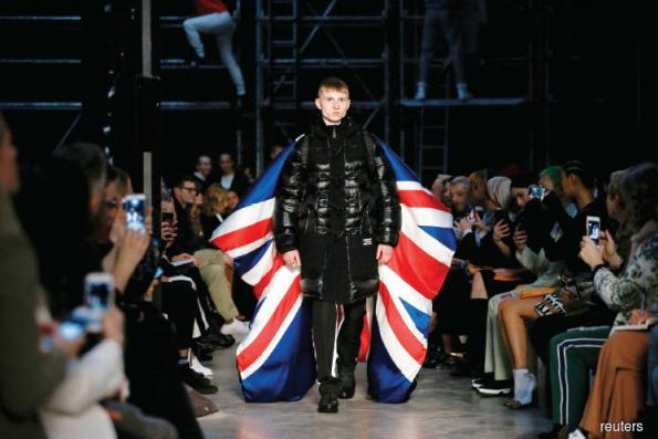 Fashion: Burberry's fractured fashion show is a fit for Brexit Britain
