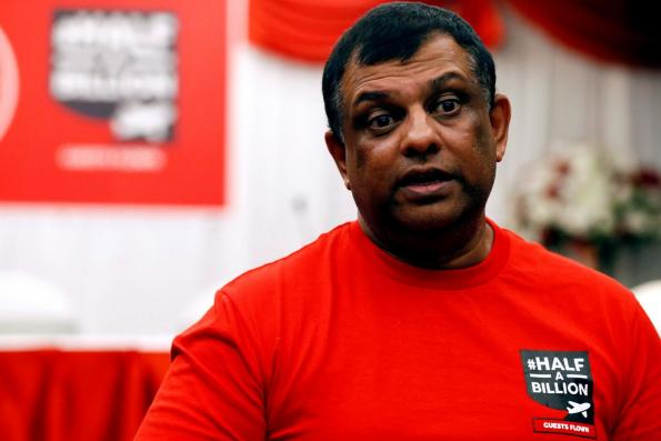 Share price is falling but Fernandes says AirAsia has done everything right. Why?
