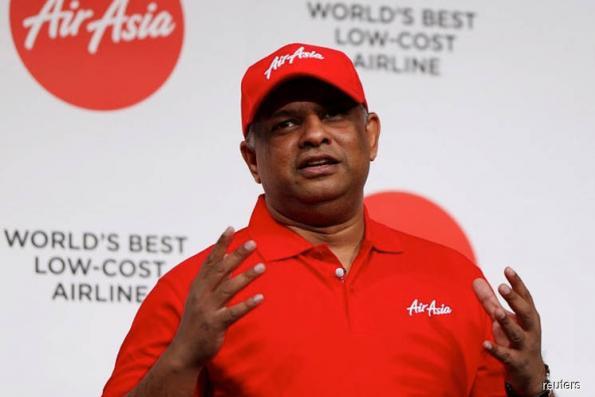 AirAsia denies 'fake news' of Tony Fernandes leaving