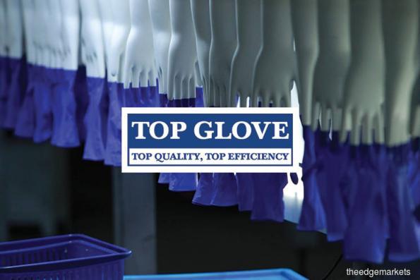 Top Glove falls as ringgit strengthens past 4.1 vs US dollar