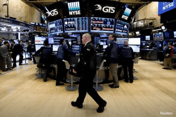 Wall St flat as banks, Amgen weigh; Adobe rallies