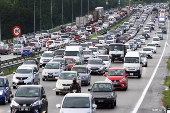 Smooth traffic flow on major expressways