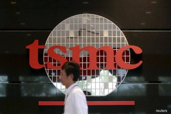 TSMC shares slide as revenue estimate cut; other Apple, chip stocks also fall