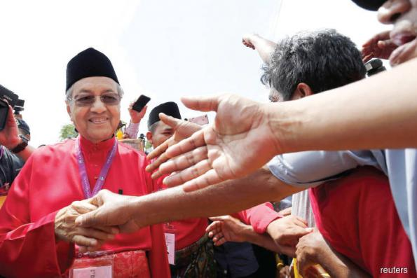 Run-Up to GE14:  The magnetic pull of Tun Mahathir