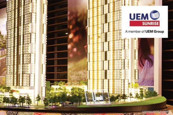 销量超出预期 UEM阳光2017财年净赚2.8亿令吉