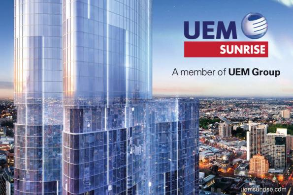 UEM Sunrise's sales at up to 70% of RM1.2b target
