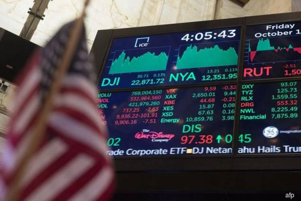 Wall St falls as solid jobs report boosts bond yields