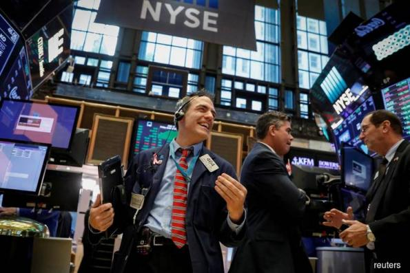 S&P, Dow touch record highs as tech stocks boost