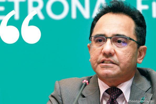 Petronas raises capital expenditure to RM55 billion
