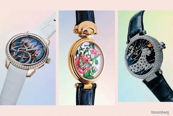 Artisans spent hours on these watch dials