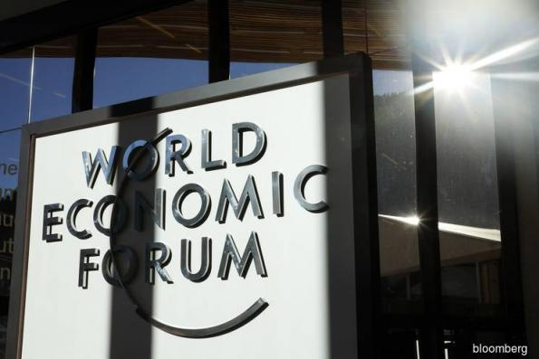 Global recession not seen in Davos even as world economy slows