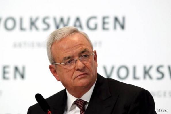 Ex-Volkswagen CEO Winterkorn charged in US over diesel scandal